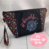 #KnitLife Zipper Bag