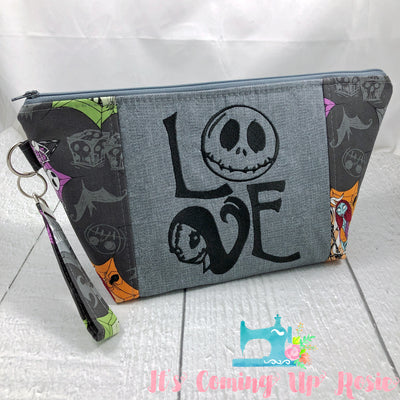 NBC Jack & Sally Love Zipper Bag