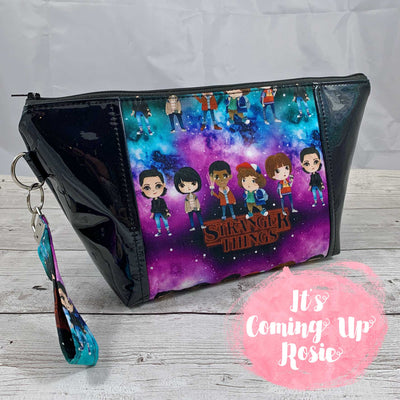 Stranger Things Squad Zipper Bag