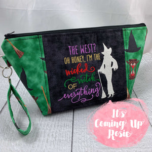 Wicked Witch of Everything Zipper Bag