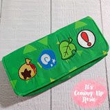 Animal Crossing Grassy Icons Nintendo Switch Case