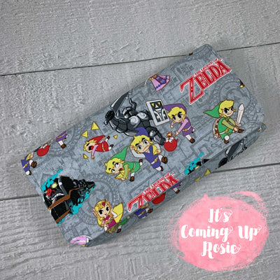 Legend of Zelda Gray Nintendo Switch Case