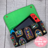 Legend of Zelda Stained Glass Nintendo Switch Case