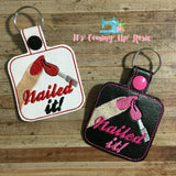 Nailed It! Manicure Keychain