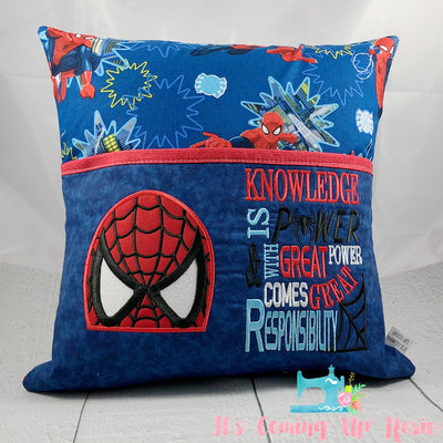 Spiderman Reading Pillow - IN STOCK!