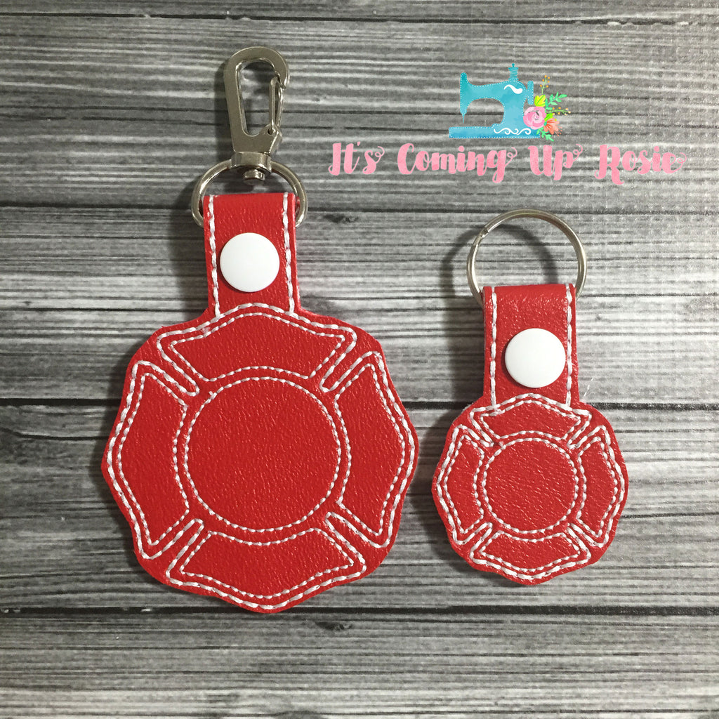 Fire Fighter Keychain