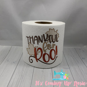 Thankful For Poo - Novelty Toilet Paper