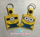 Despicable Me Square Keychain
