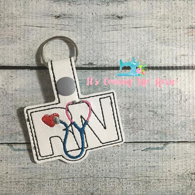 RN Registered Nurse Keychain