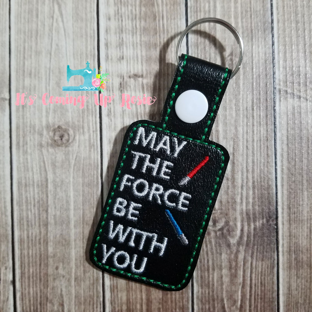 Star Wars May The Force Be With You Keychain
