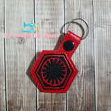 Star Wars First Order Keychain