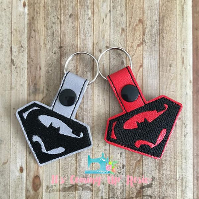 Superman v. Batman Keychain