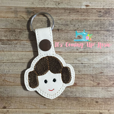 Star Wars Princess Leia Keychain