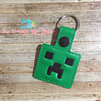 Minecraft Creeper Keychain