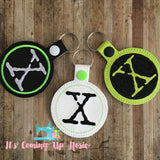 X-Files Keychain