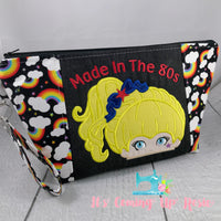 Made In The 80s Rainbow Brite Zipper Bag - PREORDER