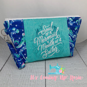 Soul of A Mermaid Zipper Bag