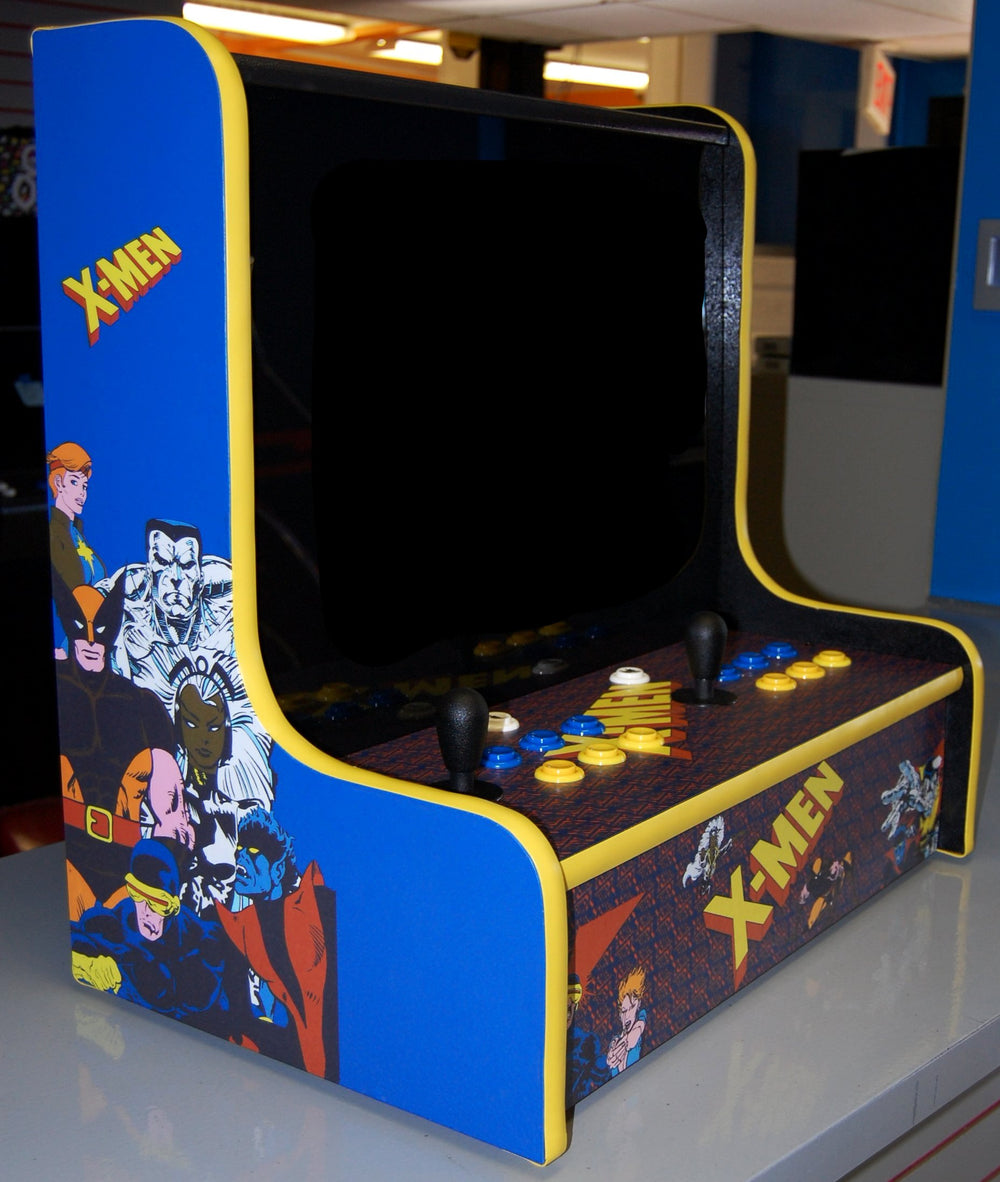X-Men Bar Top Multicade (Jamma Wired) & ecAmusements.com - BarTop Arcade Machine Jamma Cabinets