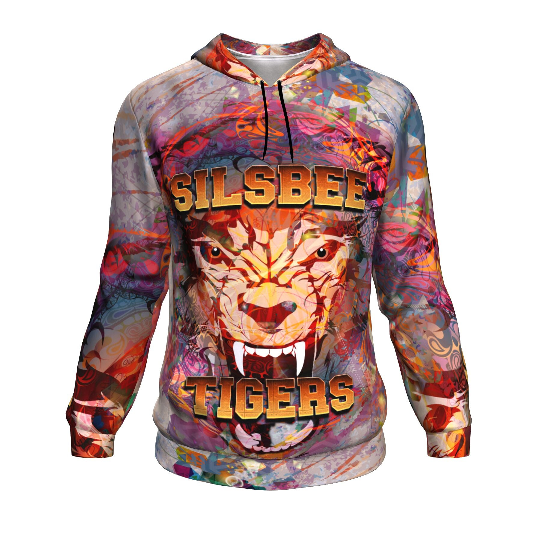 Silsbee High School Tigers - All Over Hoodie - LIMITED EDITION!