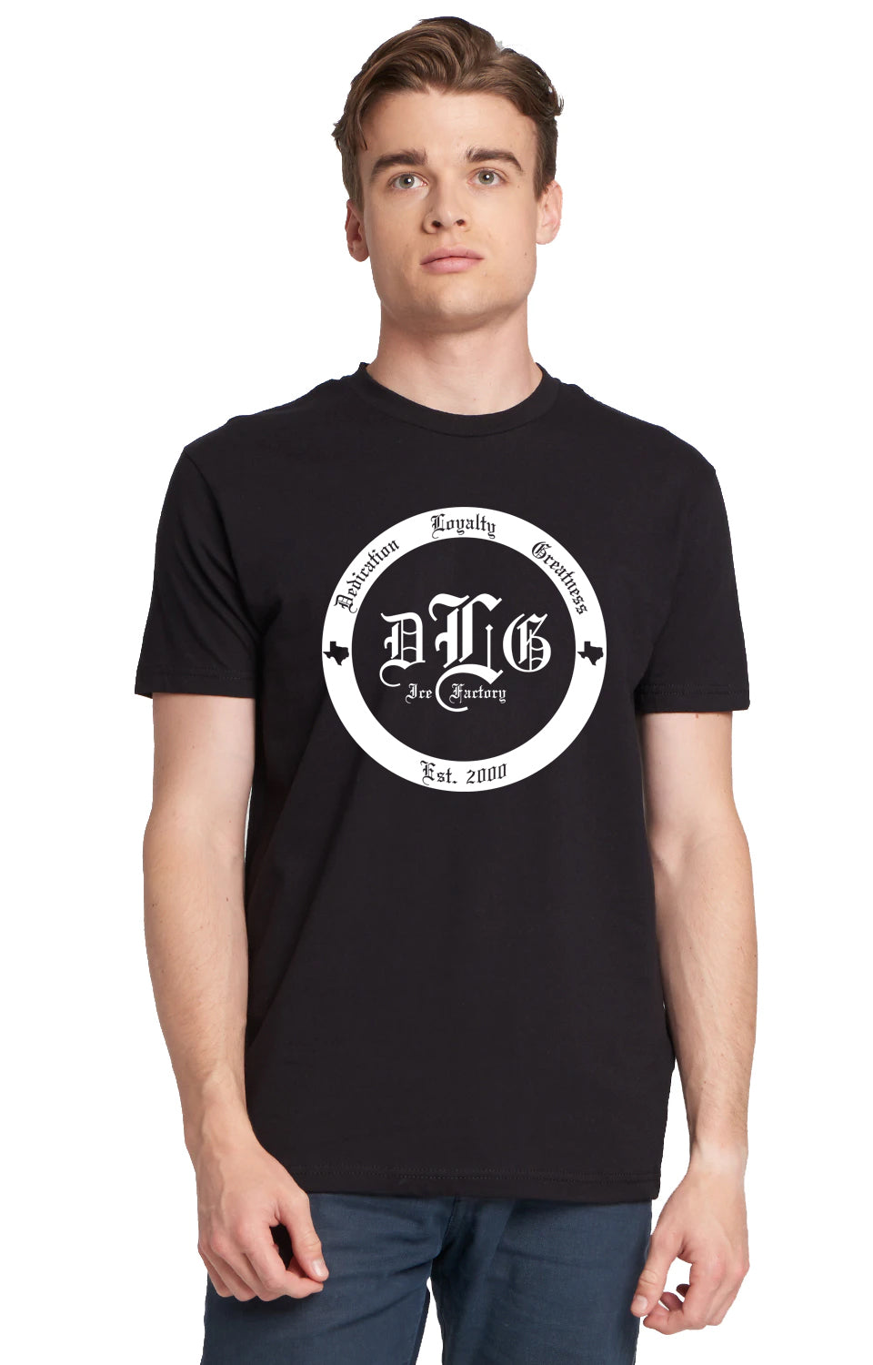 DLG Ice Factory Logo T-Shirt
