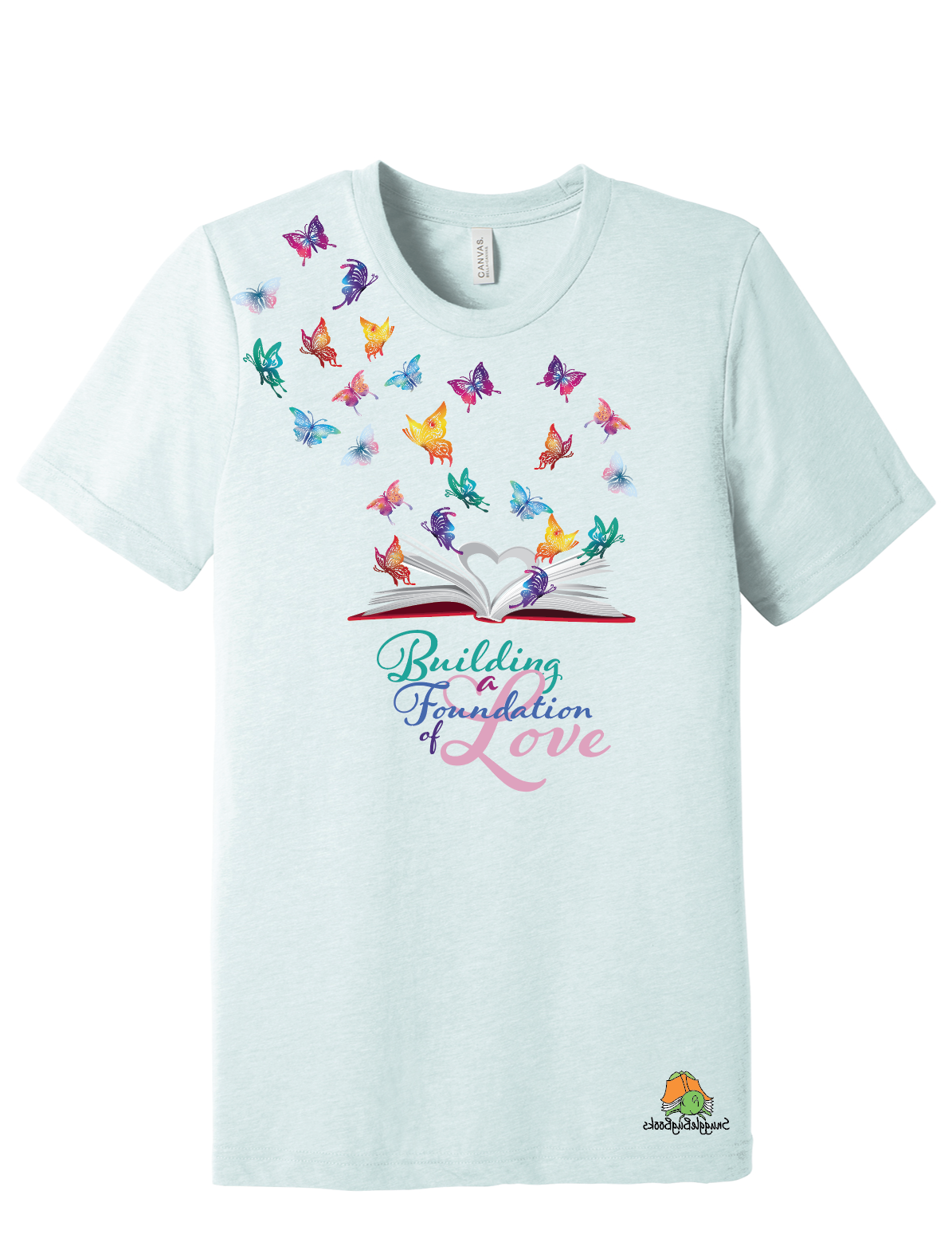 Building a Foundation of Love - Snuggle Bug Books Tri-Blend T-Shirt
