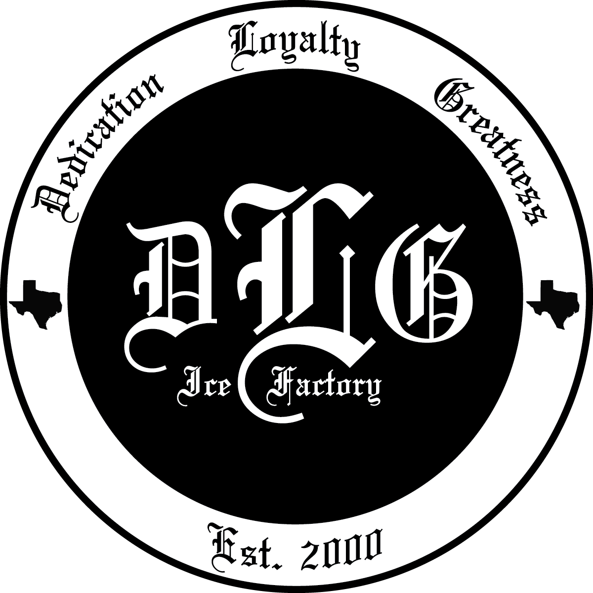 "DLG Ice Factory Sticker 3"" Sticker"