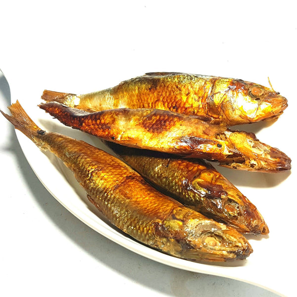 .              Locally Made Tinapa Smoked Fish (Per 250g)