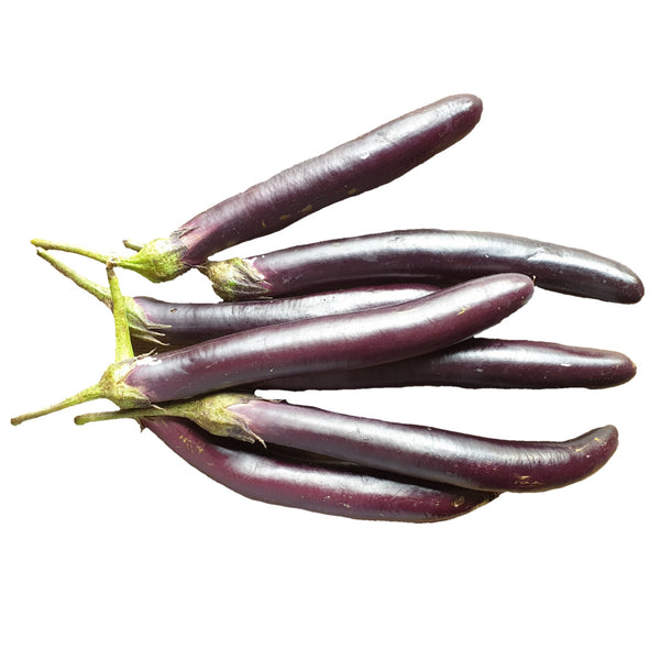 Eggplant (Per 250g) Homegrown Organics (The Home of Purple Corn) : No Minimum Order