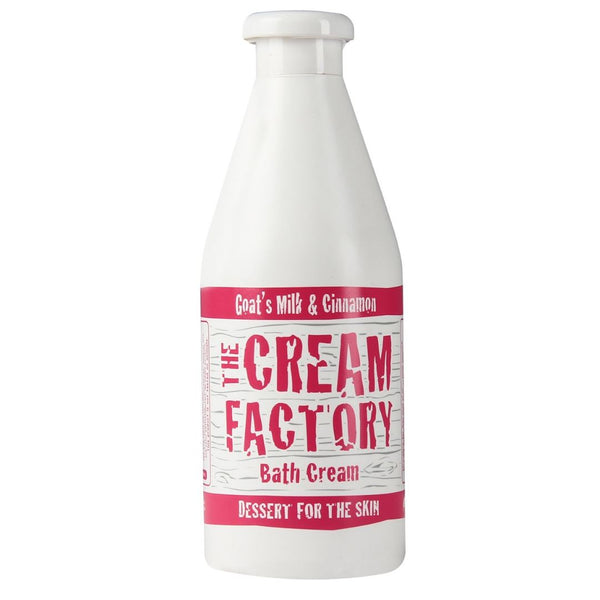 Cream Factory Moisturizing Bath Cream Goat's Milk & Cinnamon, HCM (per 768ml) Homegrown Organics (The Home of Purple Corn) : No Minimum Order