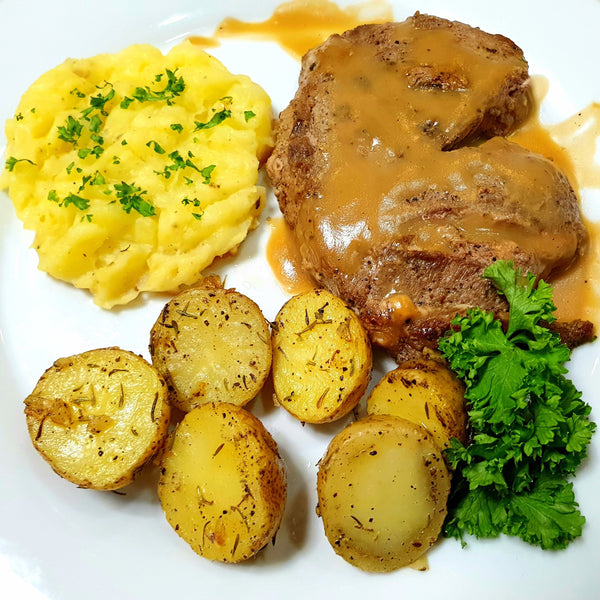 Beef Tenderloin Steak with Mashed Potatoes by Chef Noel (Per meal)