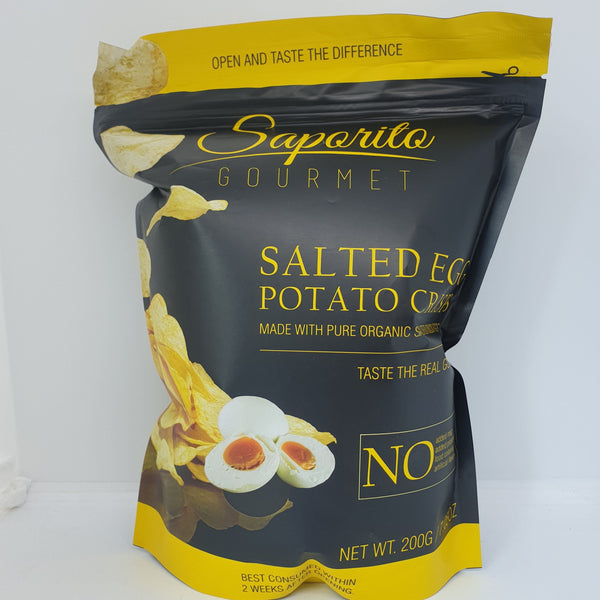 Saporito Organic Salted Egg Chips (200g) Homegrown Door-to-Door Fresh from the Farm Delivery