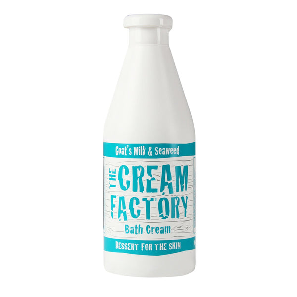 Cream Factory Moisturizing Bath Cream Goat's Milk & Seaweed, (768ml) Homegrown Door-to-Door Fresh from the Farm Delivery