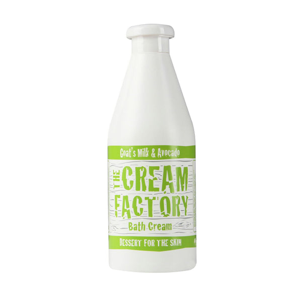 Cream Factory Moisturizing Bath Cream Goat's Milk & Avocado (768ml) Homegrown Door-to-Door Fresh from the Farm Delivery