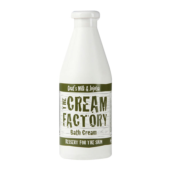 Cream Factory Moisturizing Bath Cream Goat's Milk & Witch Hazel, (768ml) Homegrown Door-to-Door Fresh from the Farm Delivery