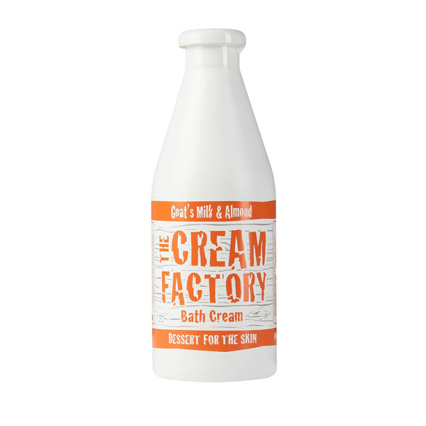 Cream Factory Moisturizing Bath Cream Goat's Milk & Almond (768ml) Homegrown Door-to-Door Fresh from the Farm Delivery