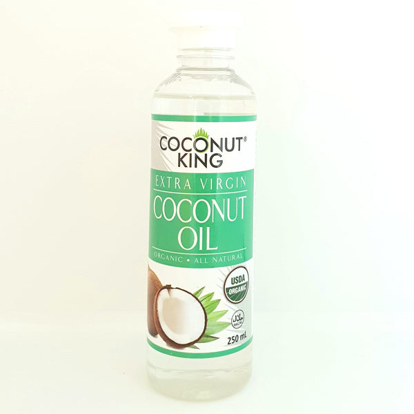 Extra Virgin Coconut Oil, Coconut King,Certified Organic USDA (250ml) Homegrown: Fresh Food, Groceries, Plants and More!