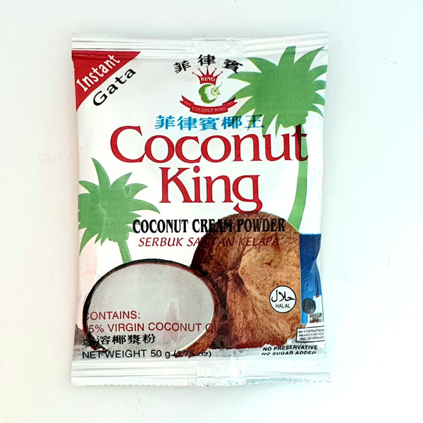 Instant Coconut Gata, Coconut King (50g) Homegrown: Fresh Food, Groceries, Plants and More!
