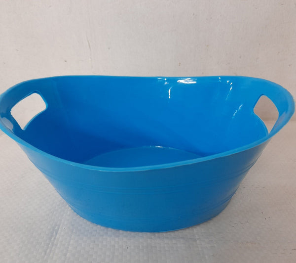 Pot for Succulent, Blue, Length 6inches x Width 4inches