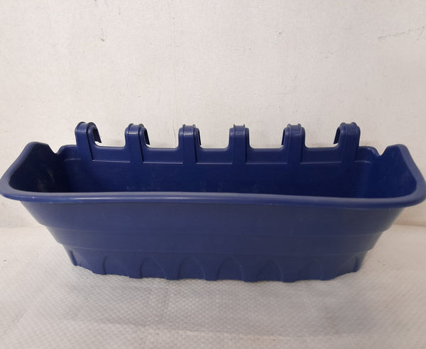 Rectangular Pot,Blue or White, Length 12inches, Width 4inches