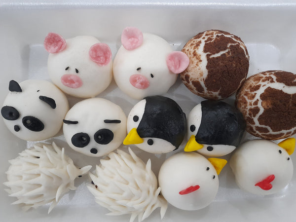 Chinese Style Steamed Buns Party Set (12pcs)