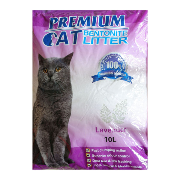 Premium Cat Litter, Lavender (10 Liters) Homegrown: Fresh Food, Groceries, Plants and More!
