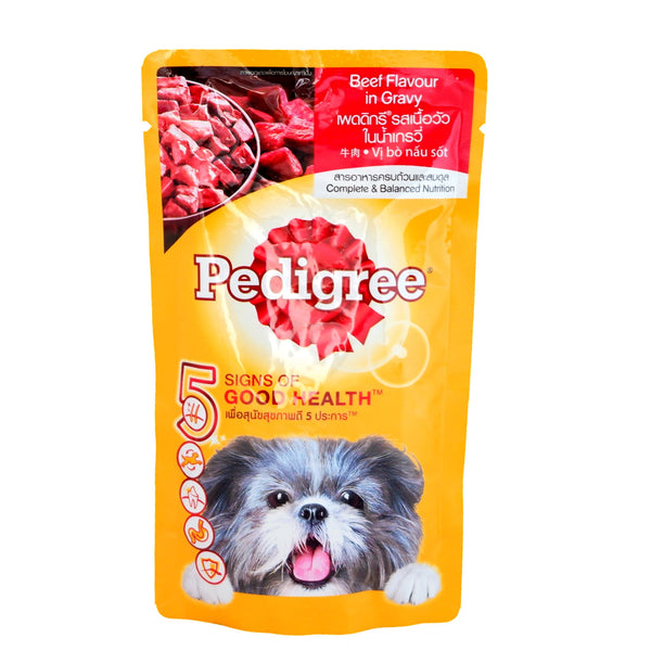 Pedigree Dog, Beef in Gravy, Pet Food Pouch, Puppy (130g) Homegrown: Fresh Food, Groceries, Plants and More!