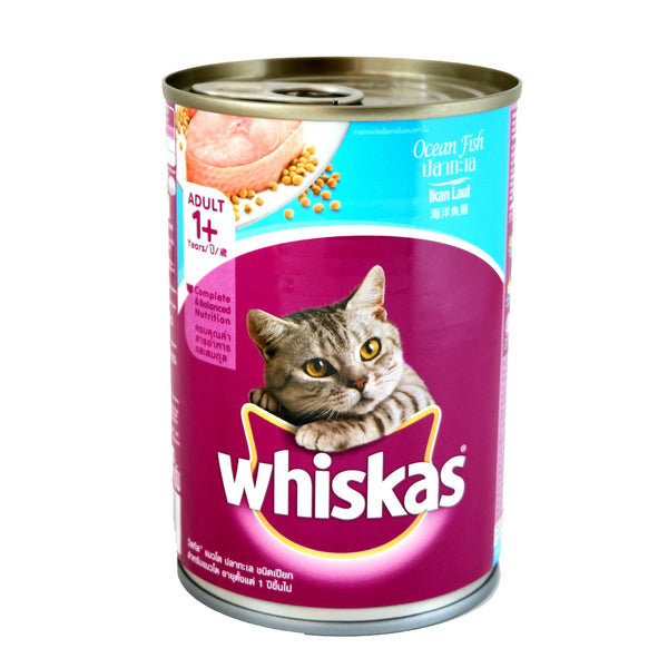 Whiskas Cat, Ocean Fish, Pet Food, 1+Adult, easy open (400g) Homegrown: Fresh Food, Groceries, Plants and More!