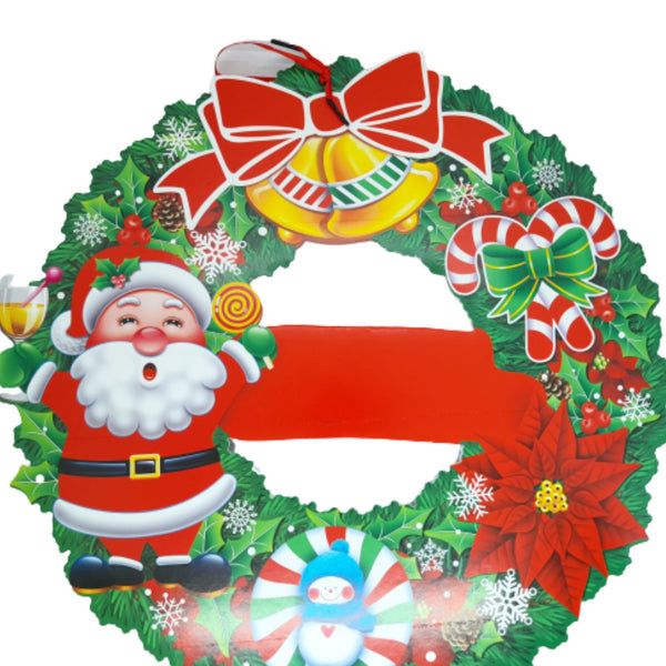 Santa Wall&Door Decor, Christmas Decor, 5inches up diameter(1pc) Homegrown: Fresh Food, Groceries, Plants and More!