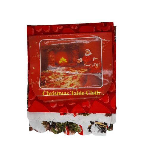 Christmas Table Cloth,58×59 inches (per piece) Homegrown: Fresh Food, Groceries, Plants and More!