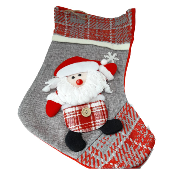 Christmas Stocking,Santa,6-10inches (per piece) Homegrown: Fresh Food, Groceries, Plants and More!