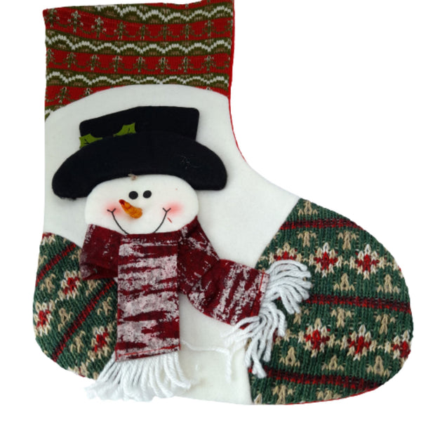Christmas Stocking,Snowman,6-10inches (per piece) Homegrown: Fresh Food, Groceries, Plants and More!
