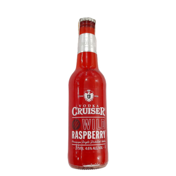 Wild Raspberry Vodka Cruiser (270ml) Homegrown: Fresh Food, Groceries, Plants and More!