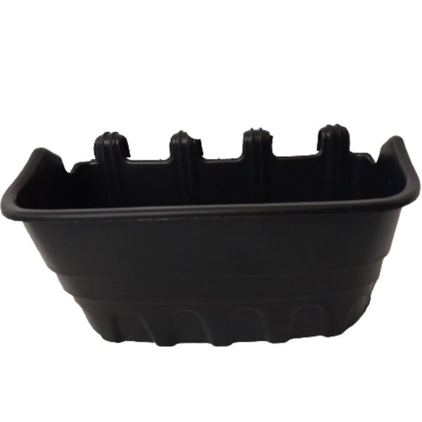 Rectangular Pot,Black or white,8×3.5inches (per piece) Homegrown: Fresh Food, Groceries, Plants and More!