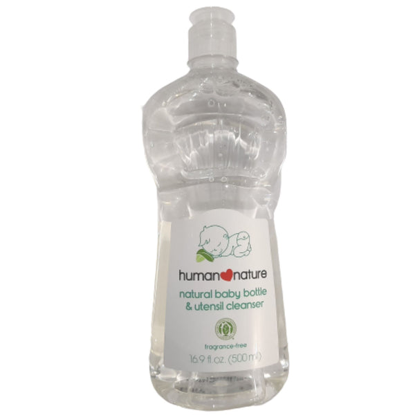 Natural Baby Bottle & Utensil Cleaner by Human Nature (500ml) Homegrown: Fresh Food, Groceries, Plants and More!
